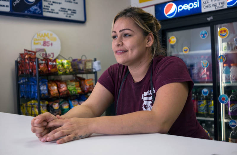 """""""I need to get this diploma,"""" says Guadalupe Beltran. """"I need to get this out of the way, it's like a big ol' stone that's right there. I need to move it."""""""