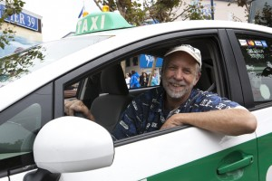 Brad Newsham, a former cab driver of 28 years who was also a chair of the United Taxicab Workers. (Courtesy David Kidd)