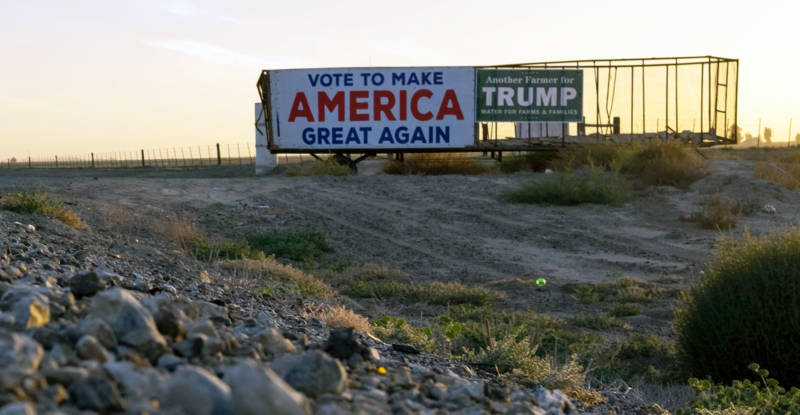 For many farmers in the Central Valley, water is the most important issue of this election. Donald Trump has vowed to bring farmers more water, and many support him for president.