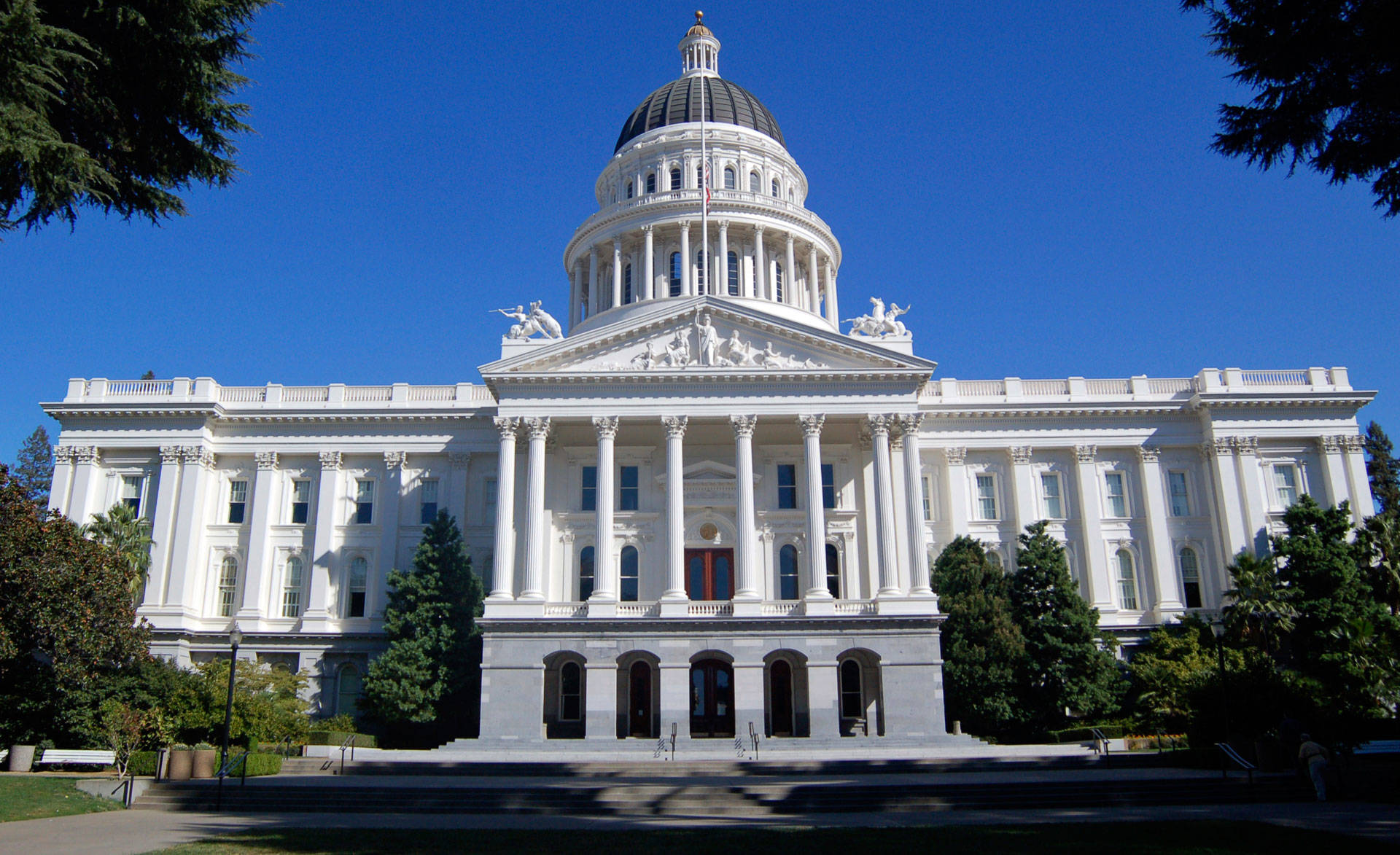 The California state Capitol in Sacramento. Getty Images