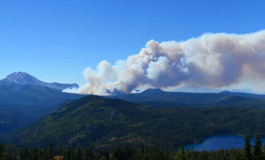Forest managers lost control of the 2012 Reading Fire in Lassen County.