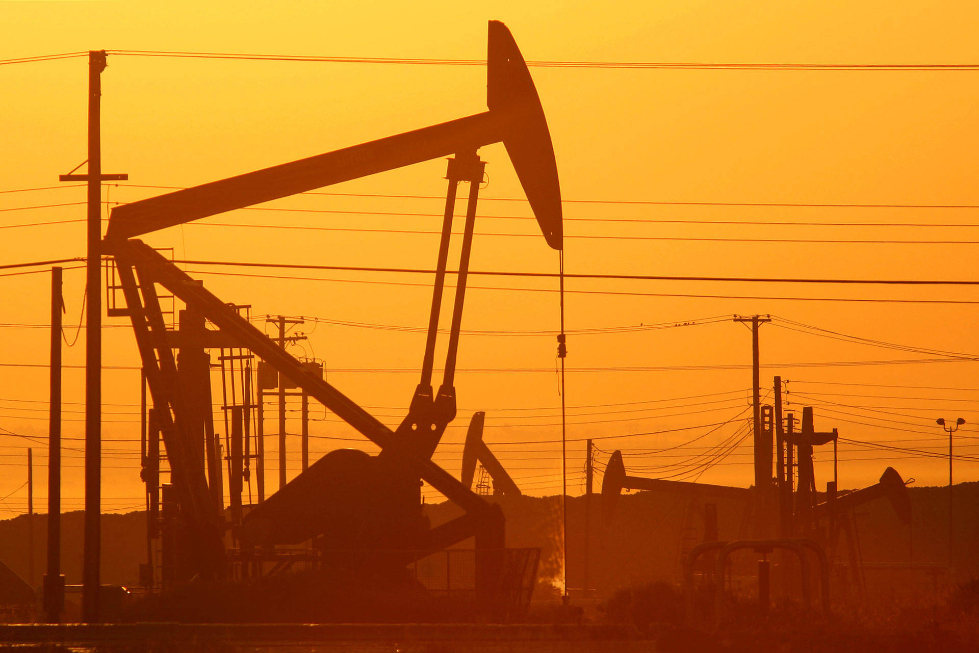 Donald Trump has pledged to increase oil and gas production on federal land. That could impact California, where 7 percent of oil wells are on federal land, according to the BLM. Five of the 10 most productive oil fields in the U.S. are in California, mostly in Kern County. These pumpjacks and wells are in an oil field on the Monterey Shale formation near Lost Hills, in Kern County.  David McNew/Getty Images