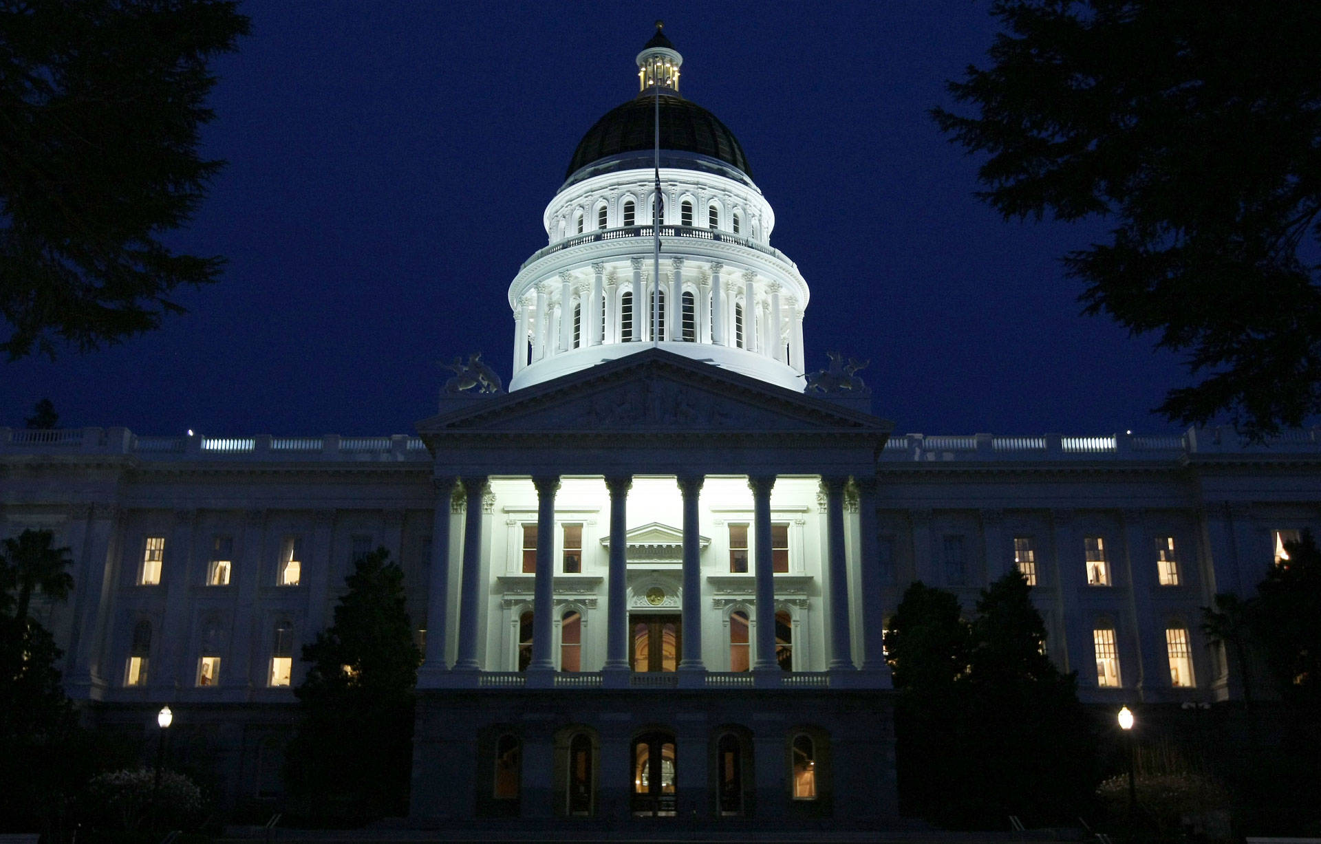 The California state Capitol in Sacramento. Justin Sullivan/Getty Images
