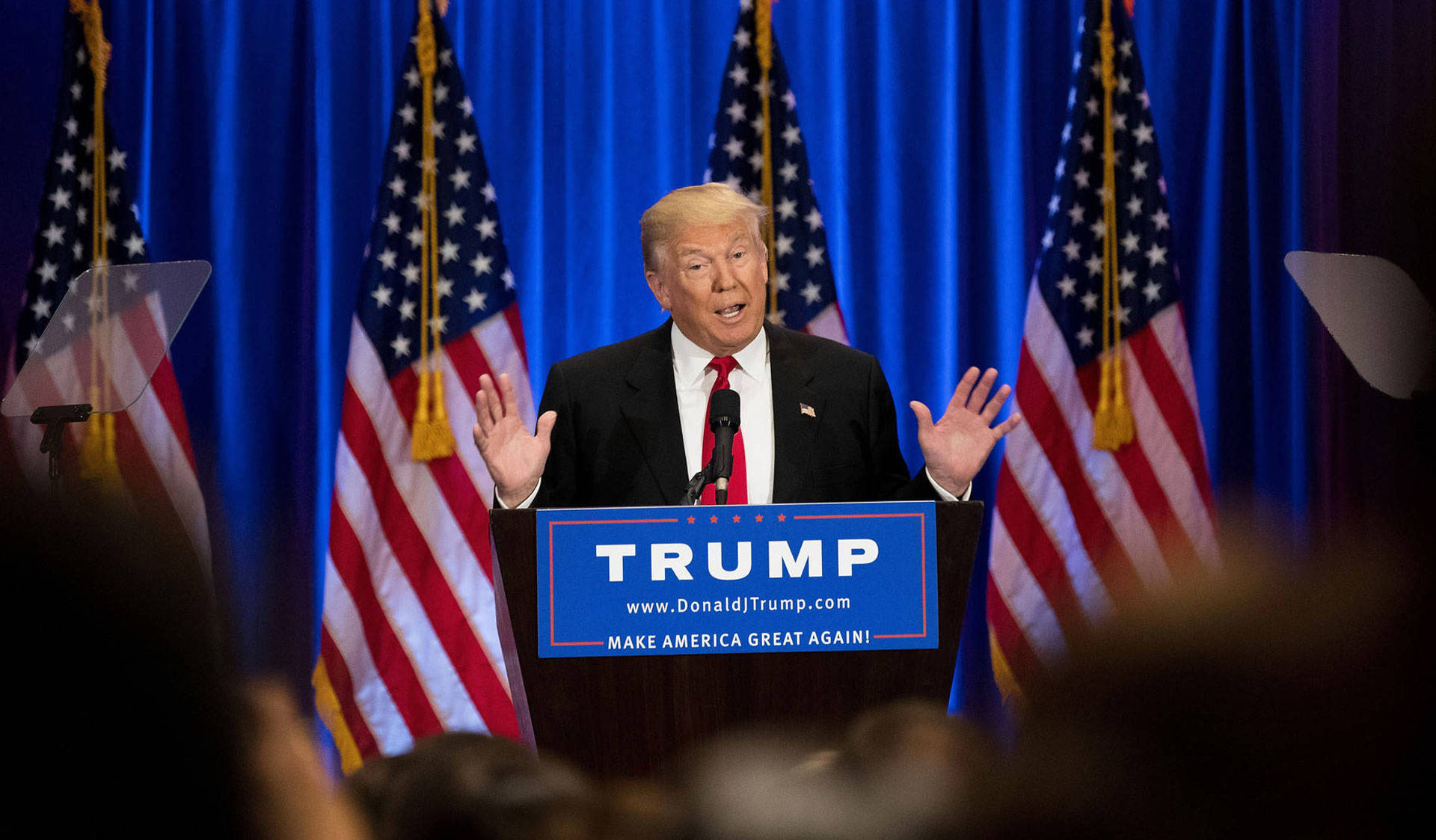 President-elect Donald Trump wants to cut funding to sanctuary cities.  Drew Angerer/Getty Images