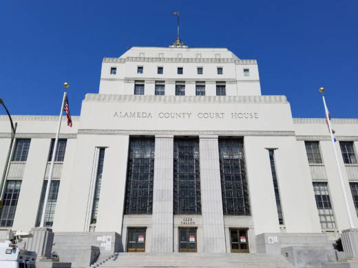 The René C. Davidson Courthouse in Oakland.