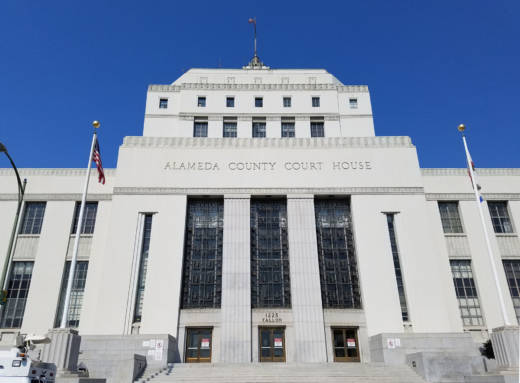The René C. Davidson Alameda County Superior Courthouse in Oakland.