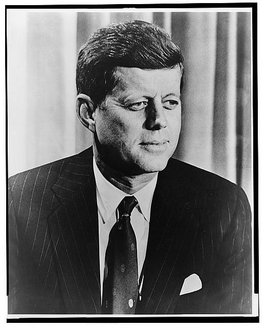 President John. F. Kennedy