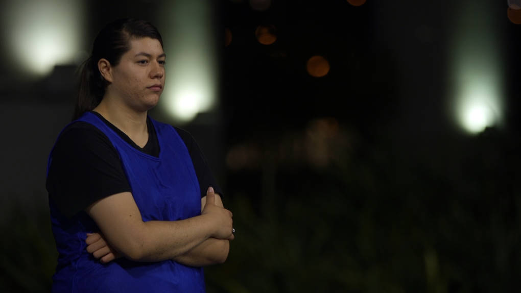 SFSU student Alexis Moran was homeless after moving to S.F. for school.