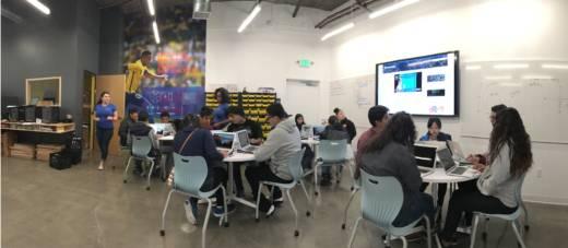 Teaching Computer Programming Through Making in Oakland's