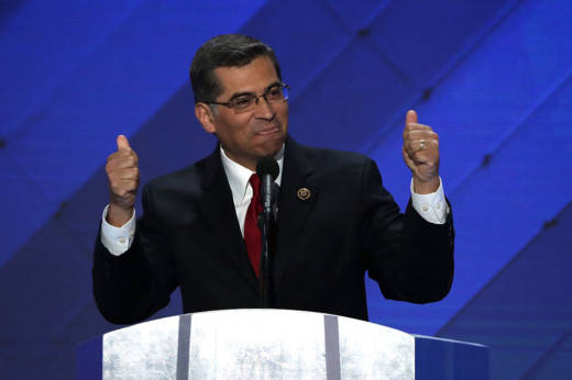 U.S. Representative Xavier Becerra delivered remarks on the fourth day of the Democratic National Convention in Philadelphia, Pennsylvania.
