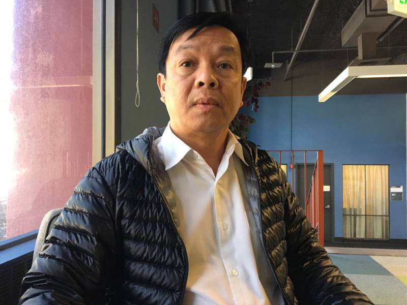 Hank Nguyen is losing his job because UCSF is working with an outside contractor.