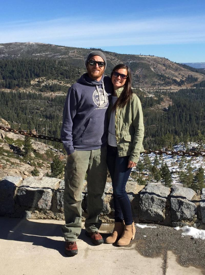 Preschool teacher Lauren Suttie and Sugar Bowl ski racing organizer Nick Lewis were without a home for 6 months in Tahoe this year.