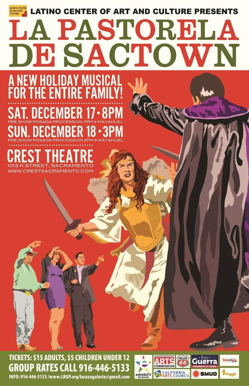 """""""La Pastorela de Sactown"""" tells the story of the Christmas nativity, with a modern political twist."""
