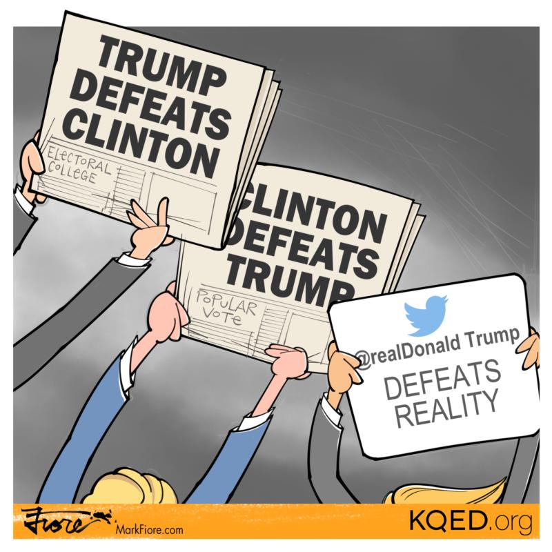 "California Secretary of State, Alex Padilla, calls President-elect Trump's claims of massive voter fraud ""absurd."""