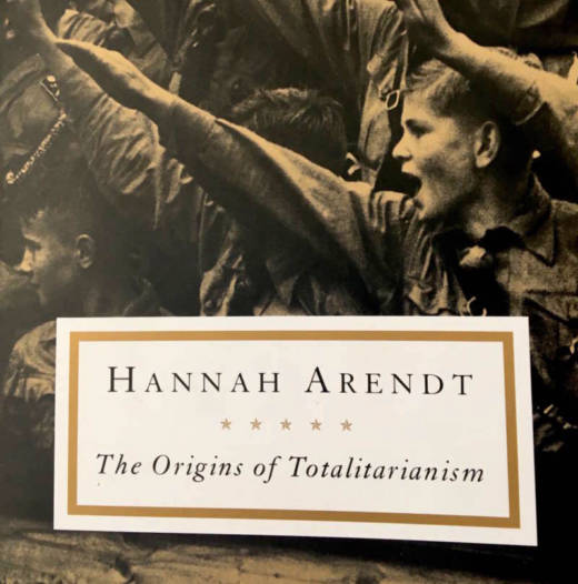 In December, Hannah Arendt's classic was selling at 16 times its normal national rate.