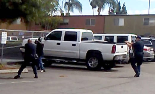 A cellphone video showed a deadly confrontation in Sept, 2016 between El Cajon police officers and Ugandan immigrant Alfred Olango, whose sister says she told officers was mentally ill.