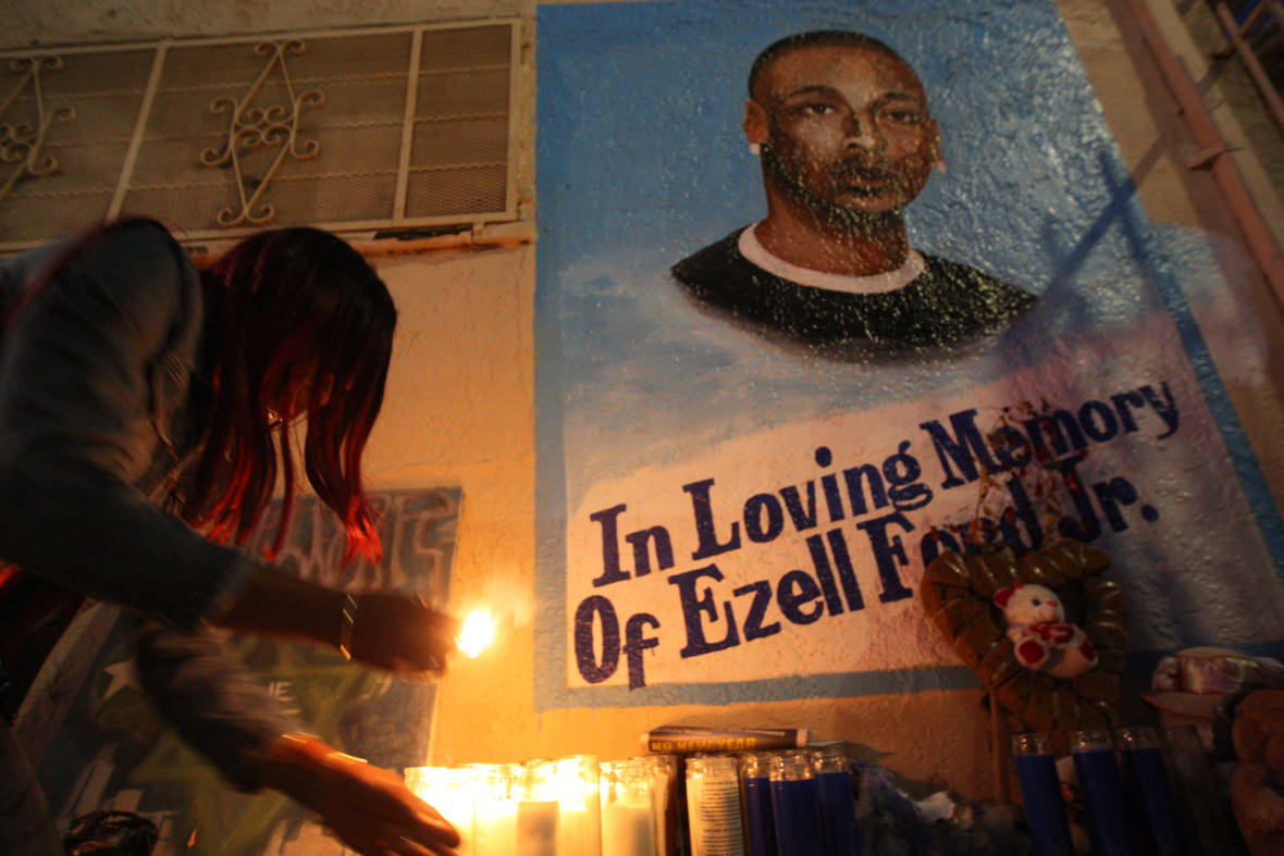 No Charges for 2 LAPD Officers in Ezell Ford Killing