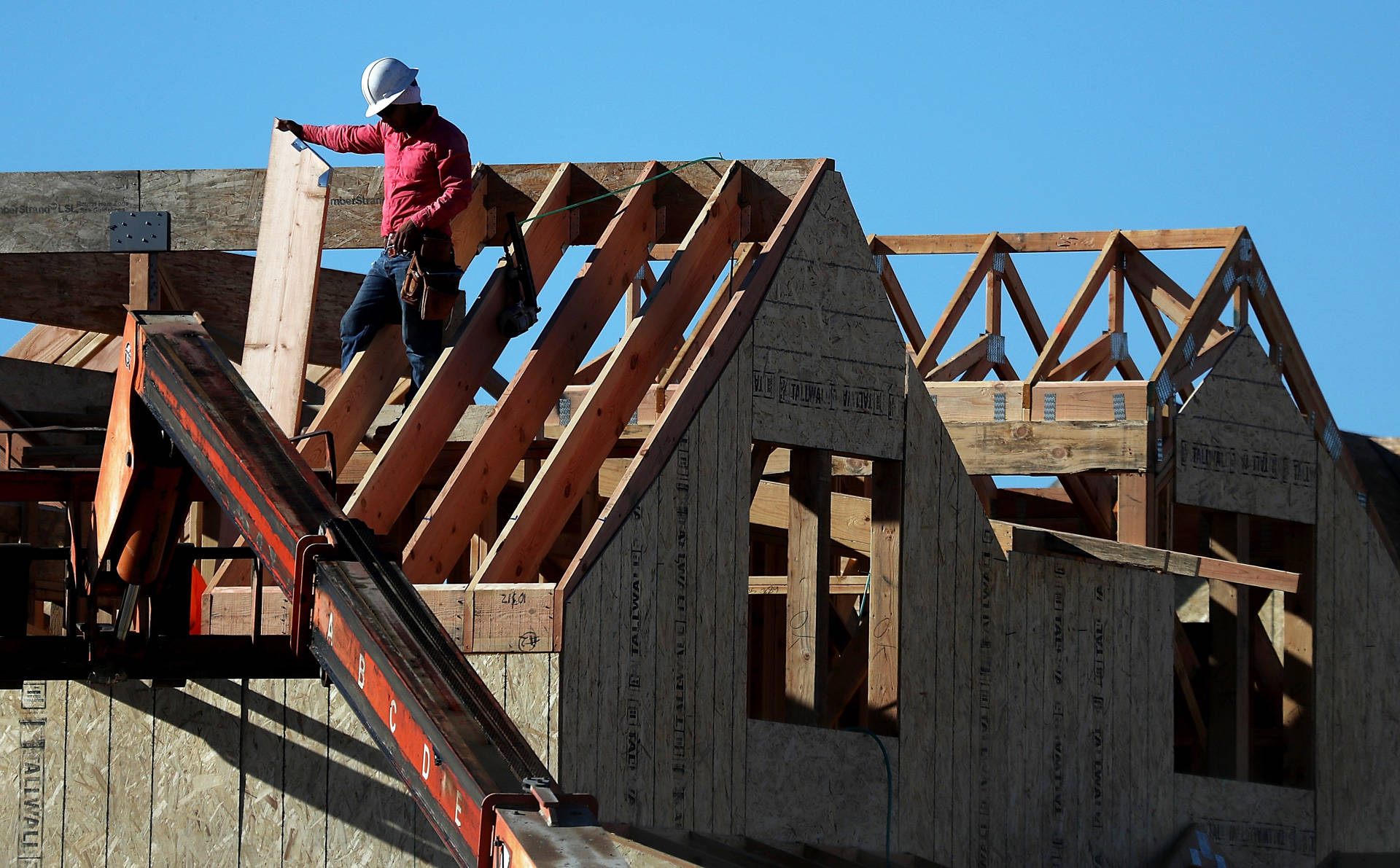 California is producing less than half the new homes it needs to meet demand, according to a new comprehensive analysis by California's Department of Housing and Community Development. Justin Sullivan/Getty Images