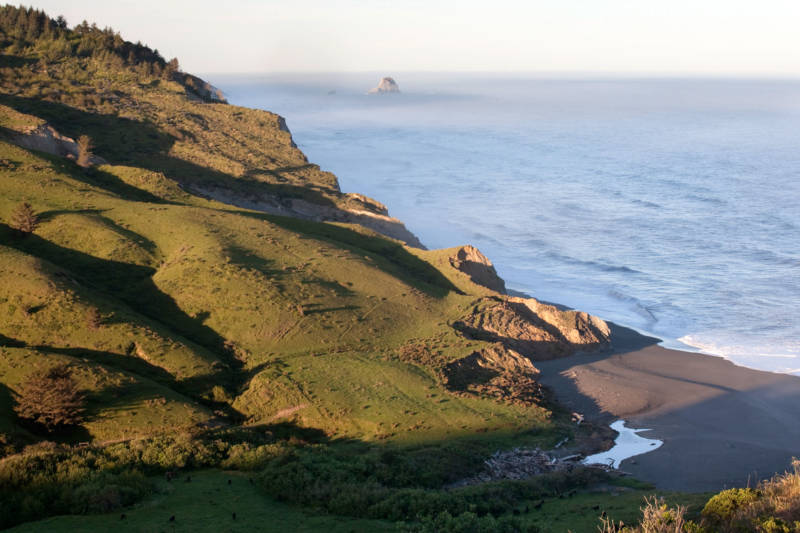The Lost Coast Headlands in Humboldt County.