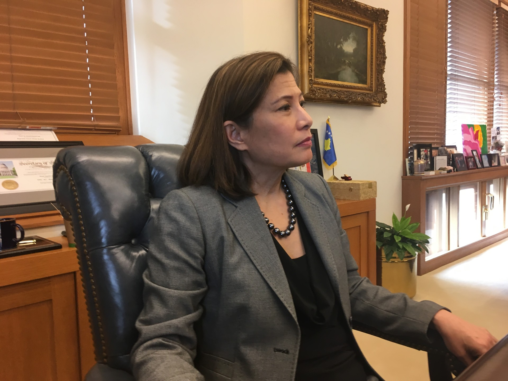 California Supreme Court Chief Justice Tani Cantil Sakauye Responds To Governor Jerry Browns Proposal