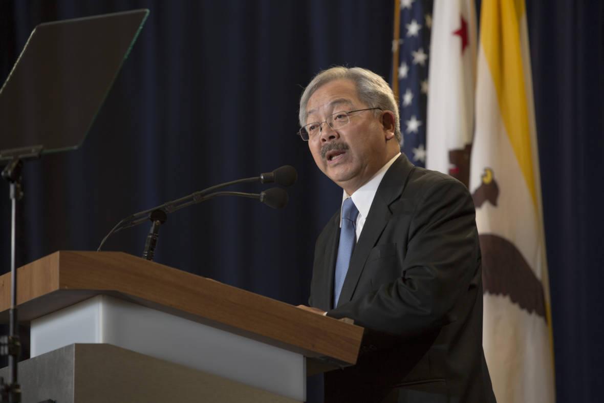 Mayor Ed Lee Reinforces Sanctuary City Commitment