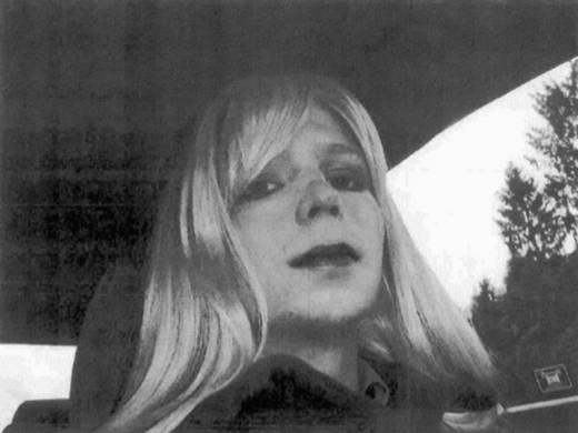 Chelsea Manning poses for a photo in 2010.