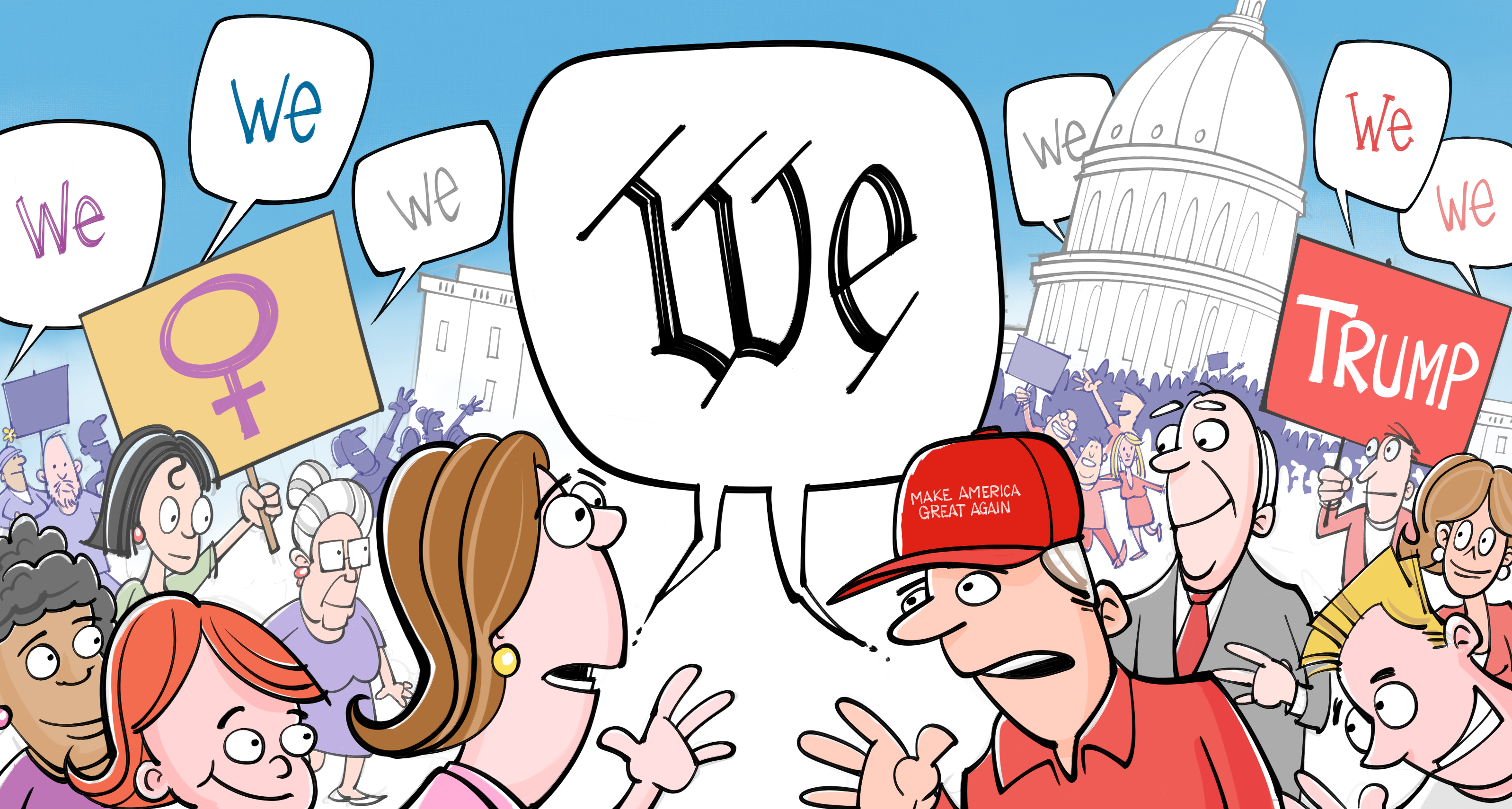Thumbnail for #wethepeople: Meet the Californians in D.C. for Inauguration Week