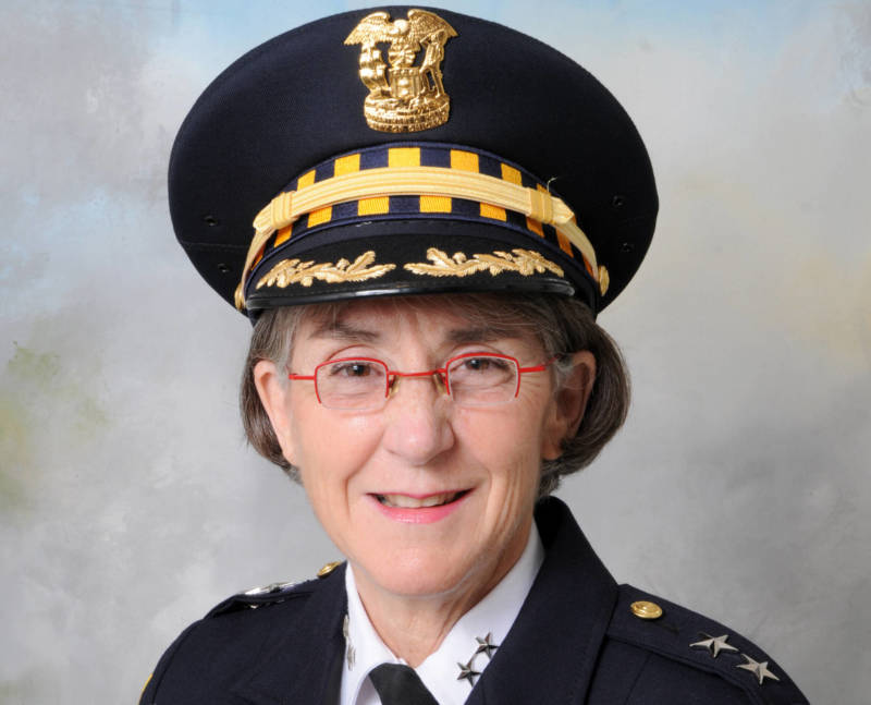 Anne E. Kirkpatrick, Mayor Libby Schaaf's choice to lead the Oakland Police Department.