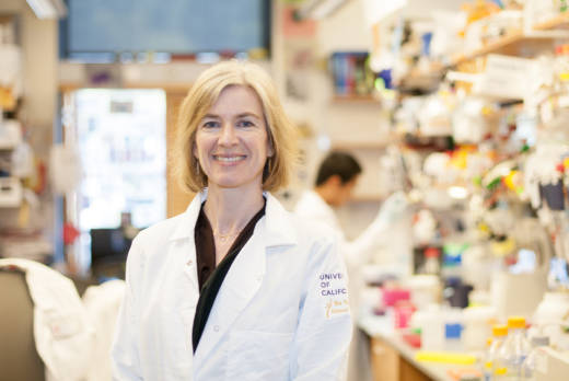 Jennifer Doudna, UC Berkeley professor of Biochemistry and Molecular Biology who co-invented CRISPR, a groundbreaking gene-editing technology.