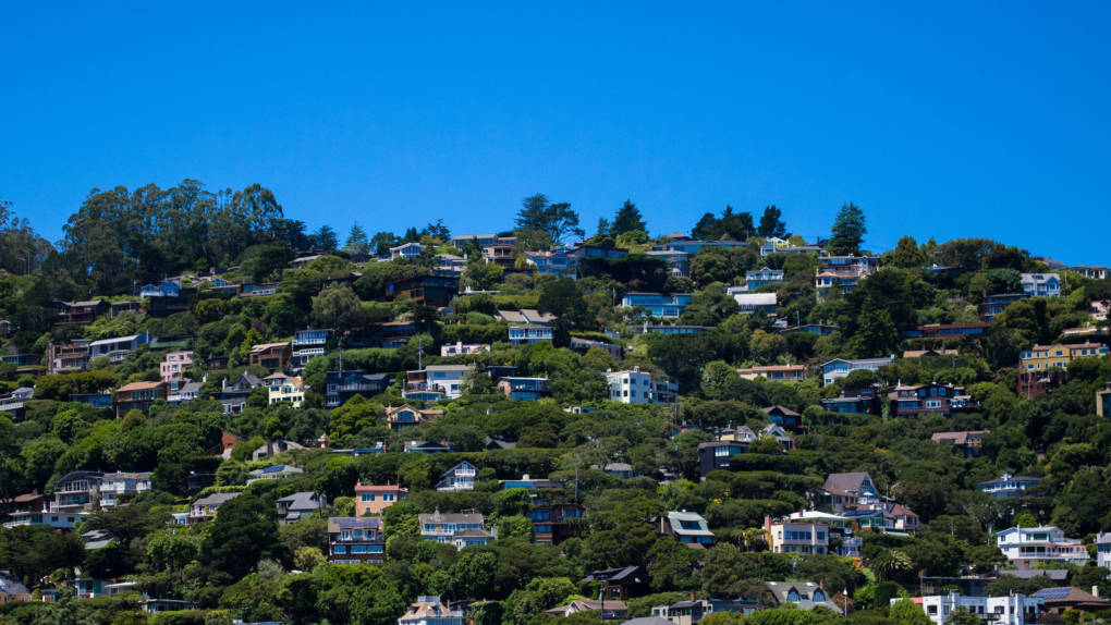 The median household income in Marin County is almost $94,000 a year.