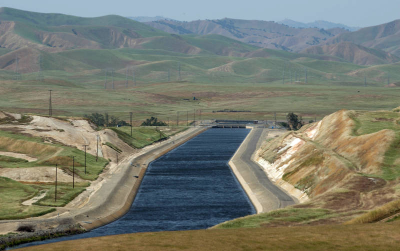 The sinking Central Valley threatens to curtail as much as one-fifth of water deliveries through the vital California Aqueduct to San Joaquin Valley farms and millions of Southern California residents.