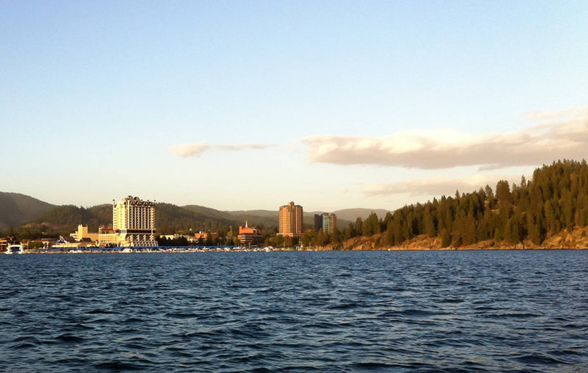 Coeur d'Alene is the largest city and county seat of Kootenai County, Idaho. North Idaho counties like Kootenai have seen their population double since the 1990s. Karen Ybanez/Flickr