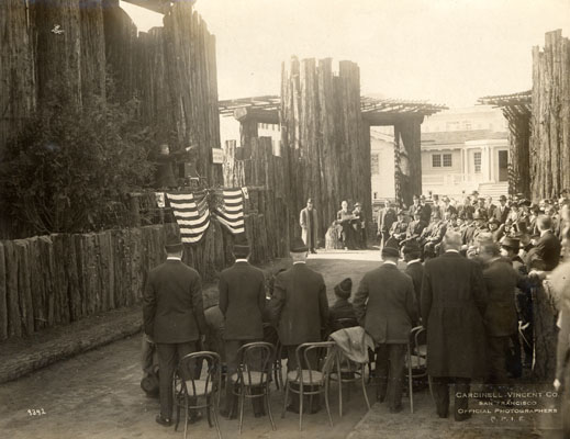Dedication Of House Of Hoo Hoo At Panama-Pacific International Exposition