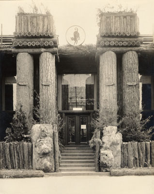 Main Entrance Of The Lumbermen's Building And House Of Hoo Hoo