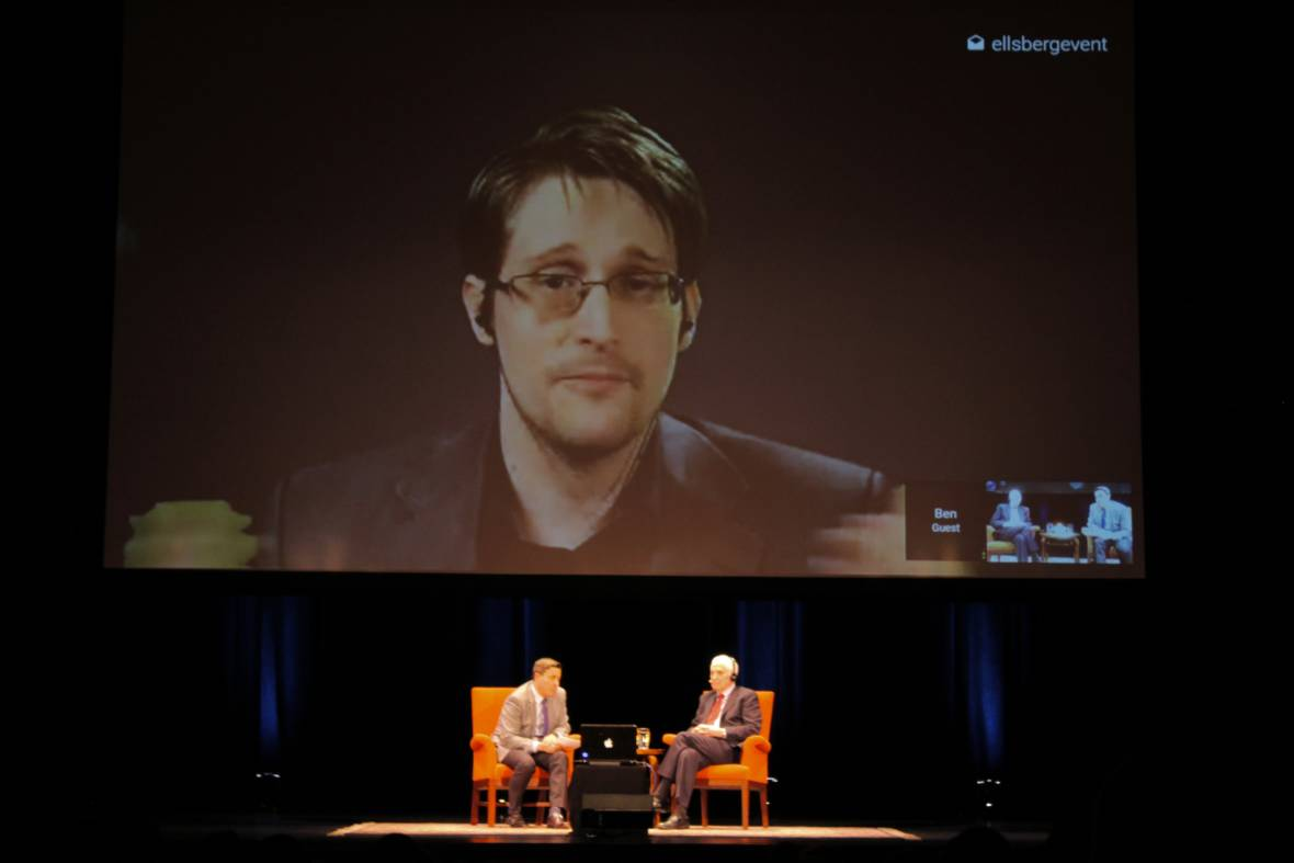 Edward Snowden and Daniel Ellsberg on the State of Security and Freedom Under Trump