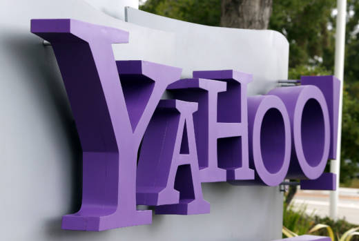 Yahoo headquarters in Sunnyvale.