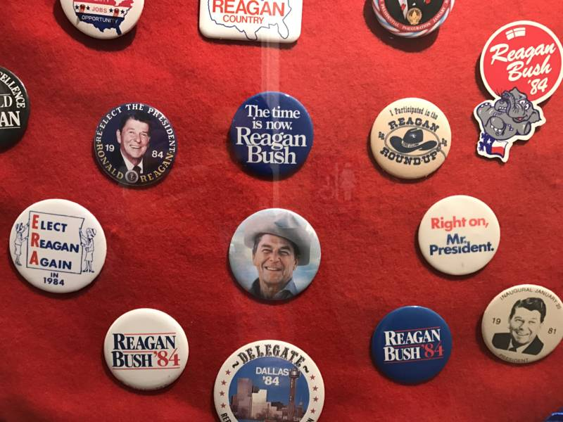 Nearly 30 years after leaving the White House, Ronald Reagan still dominates the party's heart and soul, especially in California.