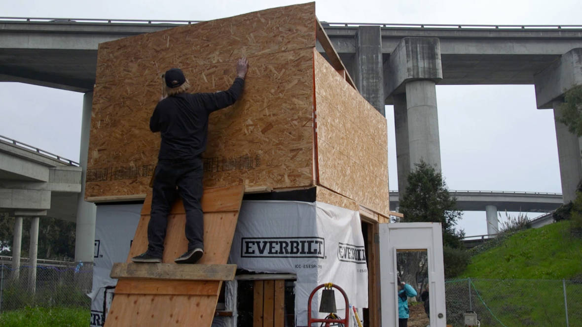 Oakland Dismantles Tiny Houses at Homeless 'Village'