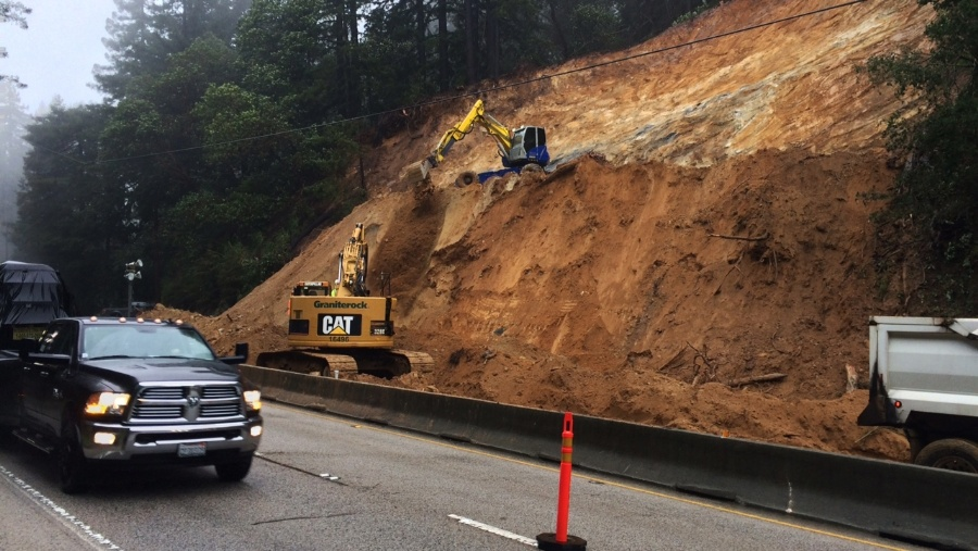 Cal/OSHA Cites Two Companies, Caltrans in Deadly Accident After Santa Cruz County Mudslide