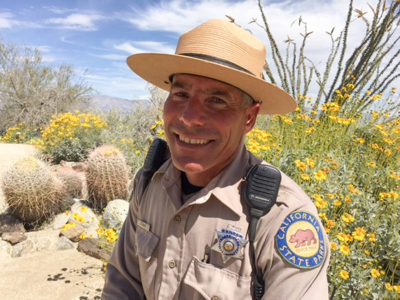 Park Ranger Steve Bier says this year's conditions were perfect for such a phenomenon: long steady rain throughout the winter — a remarkable 6 inches in all here -- that soaked into the gro