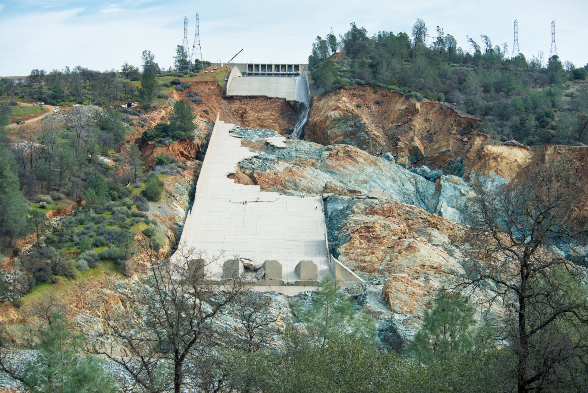Photo Gallery: What's Left of Oroville Dam's Shattered