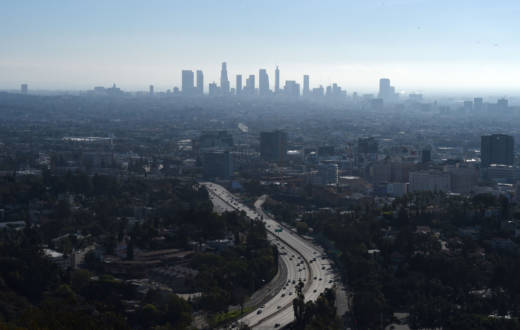 Los Angeles is competing with Paris for a bid to host the 2024 Olympic Games.