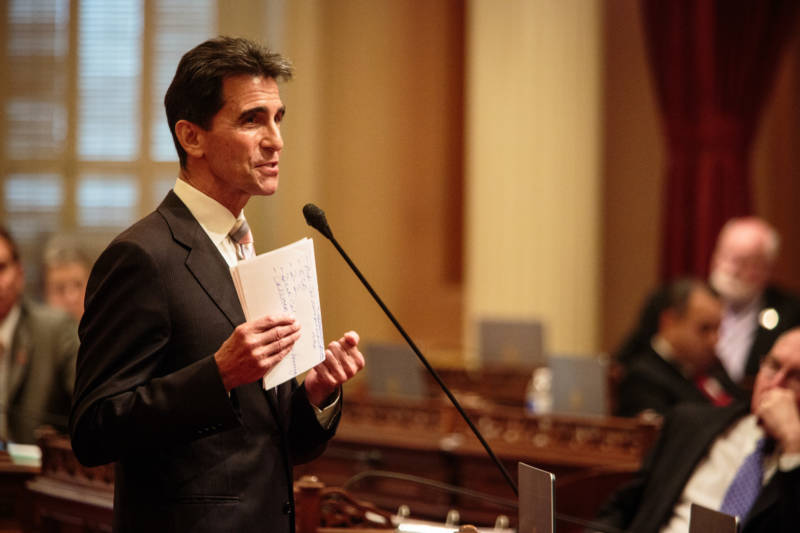 "Mark Leno, author of the ""Teacher Housing Act of 2016."""