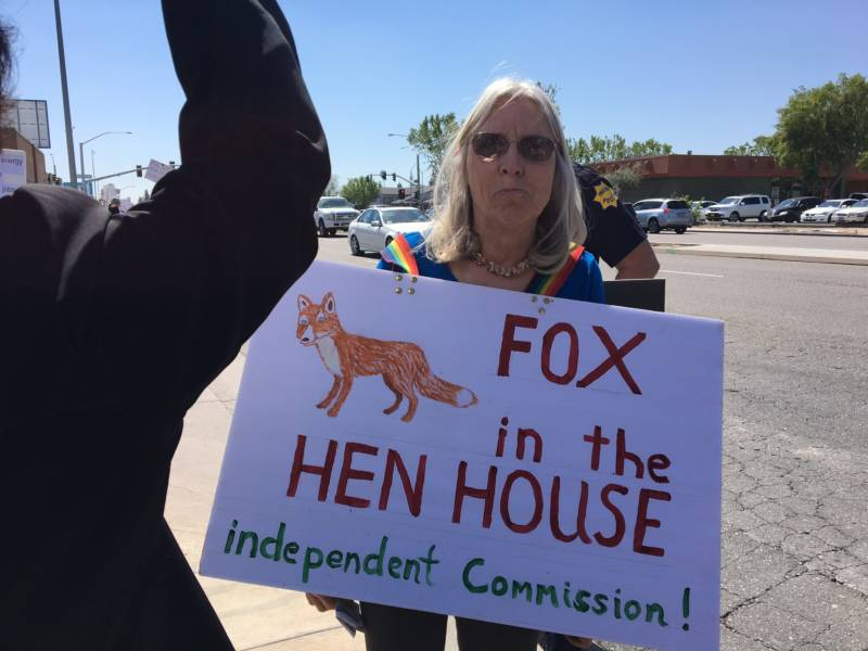 Image result for photos about signs of nunes not holding town hall meetings