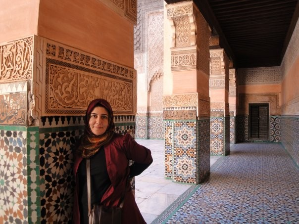 Sara Mostafavi, an Iranian-American immigration lawyer, on a visit to Morocco.