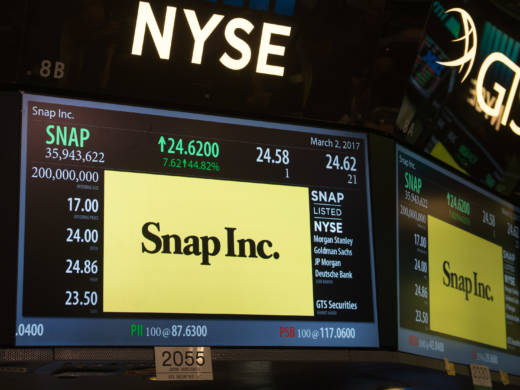 Snap surged Thursday in its first day of trading, with shares jumping more than 40 percent from Wednesday's IPO pricing. Among the day's big winners was a small Silicon Valley high school.