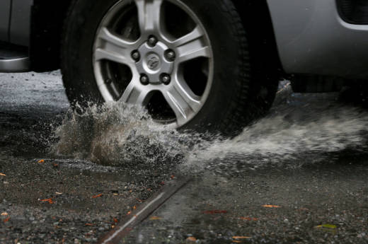 A rainy winter has made potholes a huge problem in the San Francisco Bay Area.