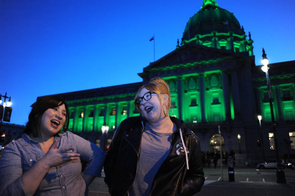 Katie Emigh is eager for one particular San Francisco sports team to be honored by the City Hall light scheme.