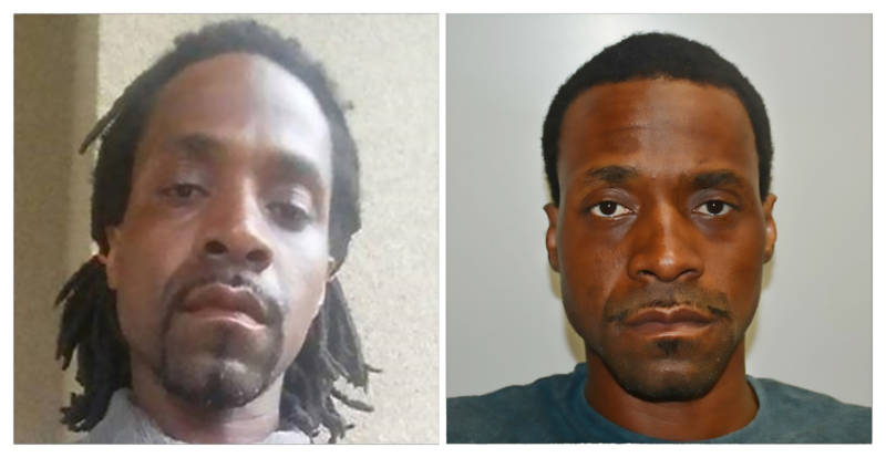 Two photographs of Kori Ali Muhammad released by the Fresno Police Department.
