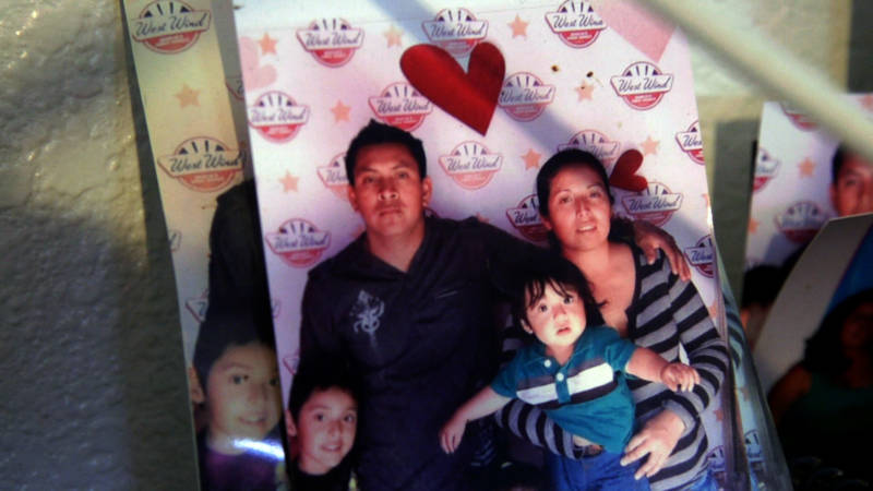 Yibi's husband, Maguiber, was detained by ICE on February 9.